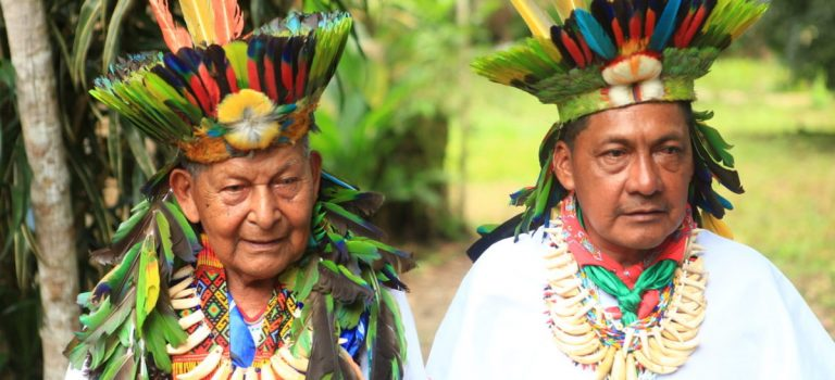 """Los indígenas colombianos organizan la """"defensa espiritual"""" de la selva amazónica"""