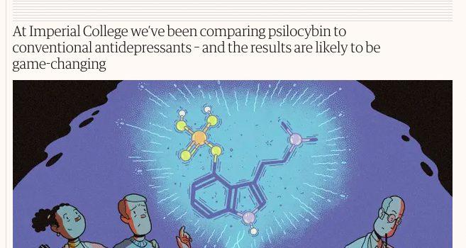 The Guardian: «No podemos seguir ignorando el potencial de los psicodélicos para tratar la depresión»